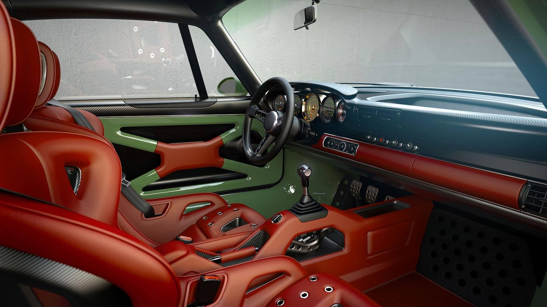 Singer-Design-Porsche-911-Williams-interior